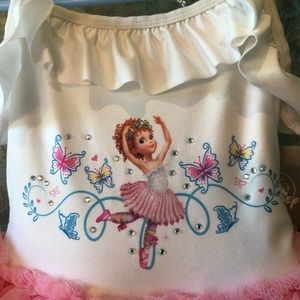 NWT! Fancy Nancy Tutu Dress Costume Disney 4T